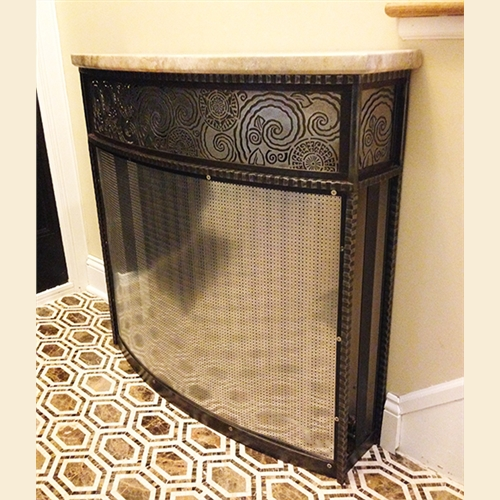 Art Deco Radiator Cover