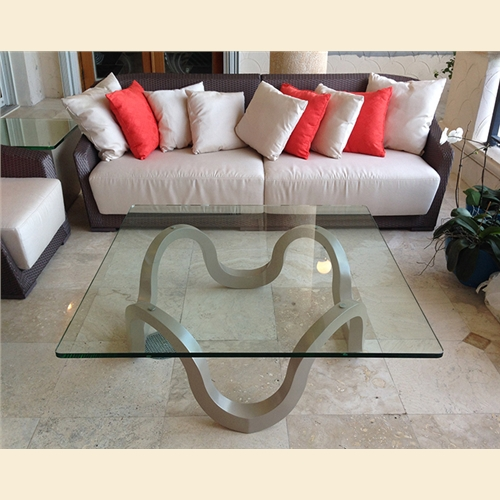 Continuous Curve Coffee Table