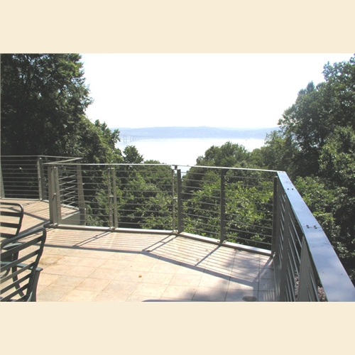 Josephs Stanchion Deck Railing