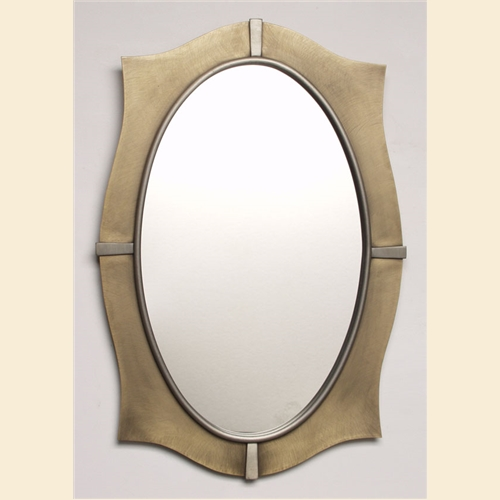 Pointed Oval Mirror