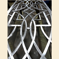 Buchanan Custom Front Door Grille