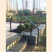 Carreira Exterior Back Pool  Railing