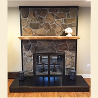 Fireplace Surround And Doors