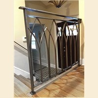 Forged Arch Railing