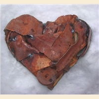Found Object Heart