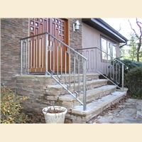 Greenan Exterior Entry Railing