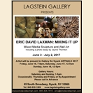 ERIC DAVID LAXMAN: MIXING IT UP